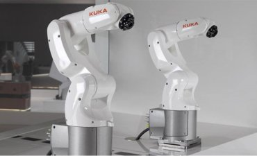 Kuka robot styres med Rockwell Automation PLC
