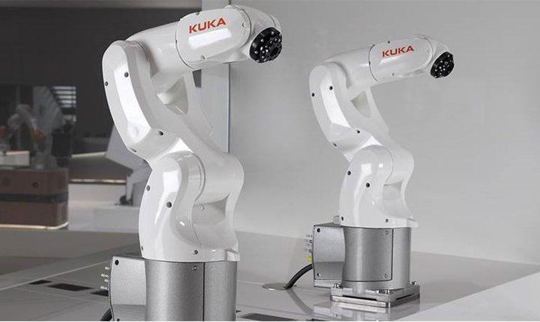 Kuka robot styres med Rockwell Automation PLC