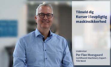 Per Fløe Moesgaard tilbyder kurser i maskinsikkerhed