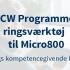 CCW Programmeringsværktøj til Micro800 -1 Dags Kompetencegivende kursus