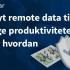 Webinar: Oplev, hvordan du gennem indsamling af data øger produktiviteten og optimerer nye maskiner