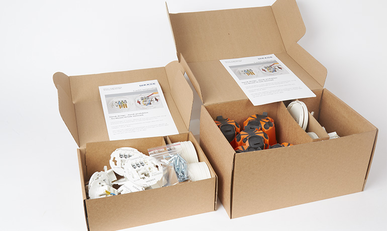 miljøvenlig emballage WLU
