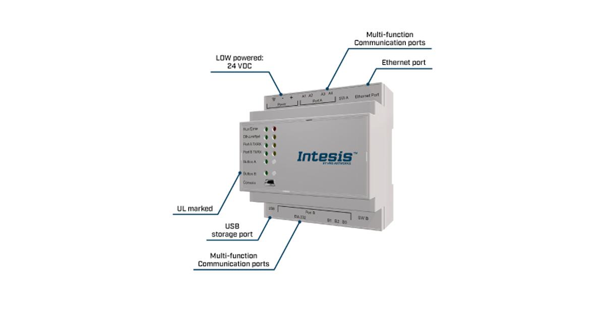 Intesis gateway translator protocol