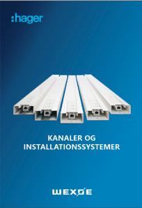 Kanaler og installationssystemer katalog