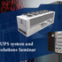 Invitation to our Vertiv Seminar 3-phased UPS systems and Thermal Solutions - 30th of October 2019
