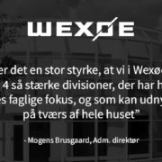 Wexøes fire divisioner