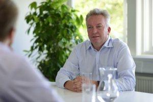 Mogens Brusgaard, CEO, Wexøe A/S støtter op om Furesø Kommunes